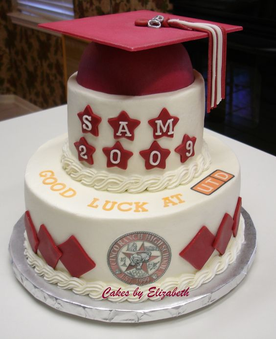 High School Graduation Cake Decorations