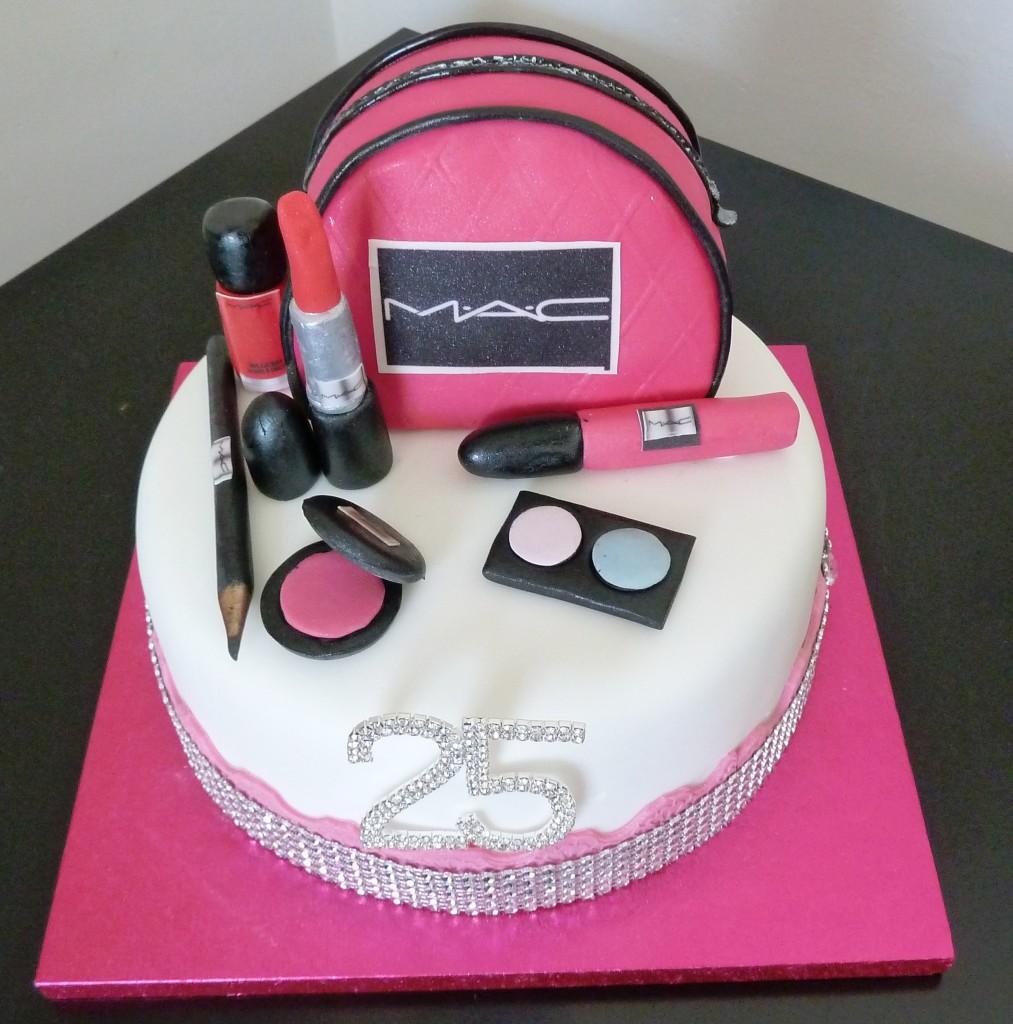 Astounding 12 Mac Cosmetics Birthday Cupcakes Photo Mac Makeup Cake Mac Personalised Birthday Cards Sponlily Jamesorg