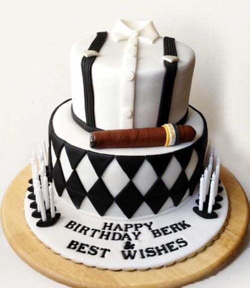 Mens 50th Birthday Cake
