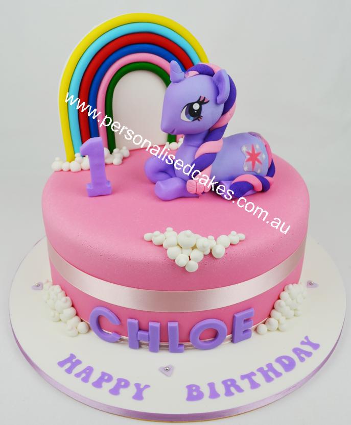 11 Birthday Cakes My Little Pony Games Photo My Little Pony