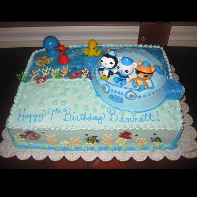 11 Octonauts Sheet Cakes Photo Octonauts Sheet Cake Octonauts