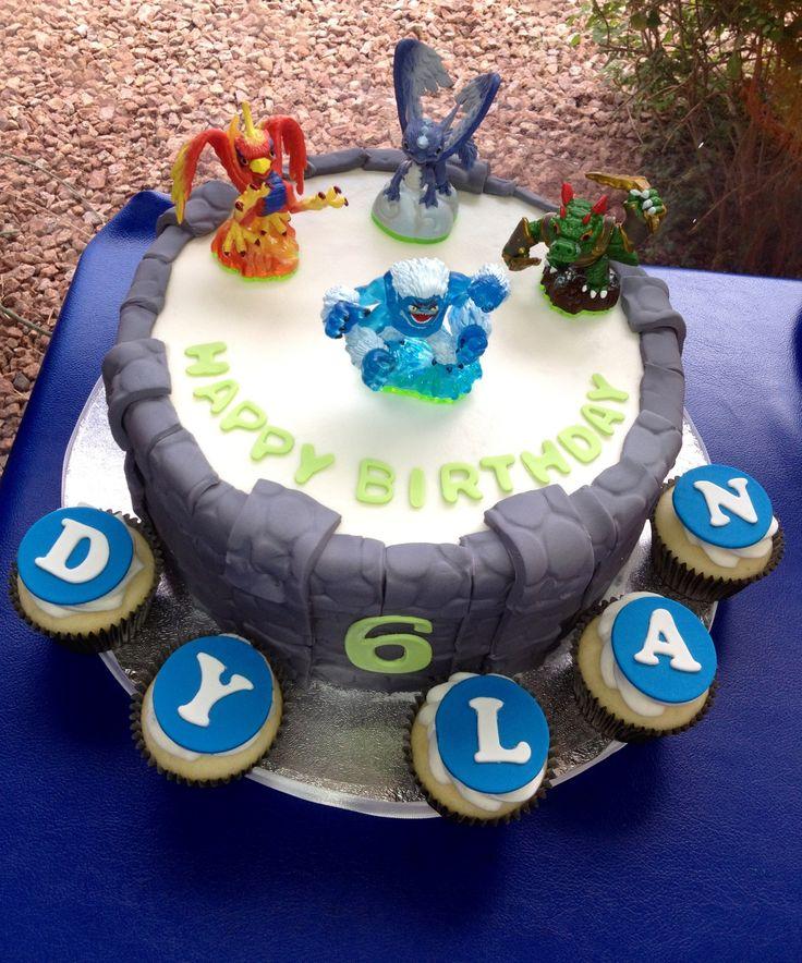 Fine 10 Skylanders Birthday Cakes On Pinterest Photo Skylander Funny Birthday Cards Online Inifofree Goldxyz