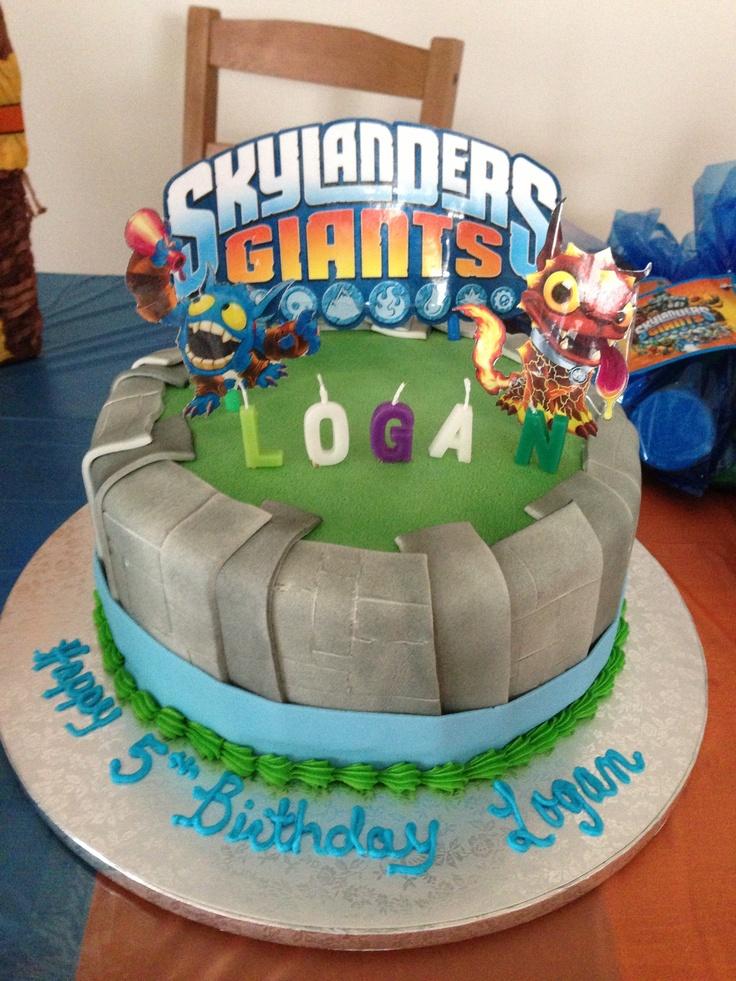 10 Skylanders Birthday Cakes On Pinterest Photo Skylander Birthday