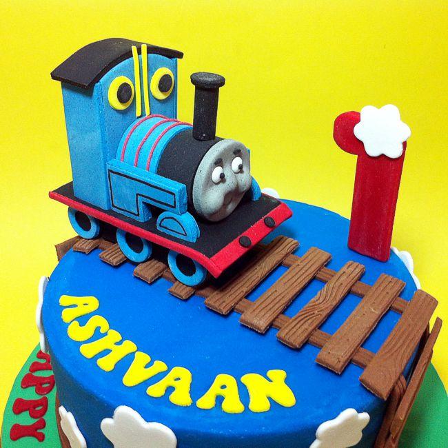 9 Thomas Friends Cakes Decorated Photo Thomas The Train Cake