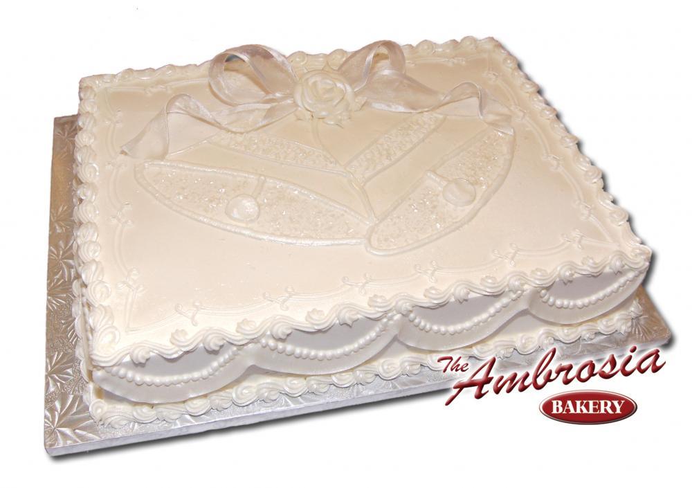 8 Full Sheet Wedding Cakes Photo - Wedding Sheet Cake, Wedding Sheet ...