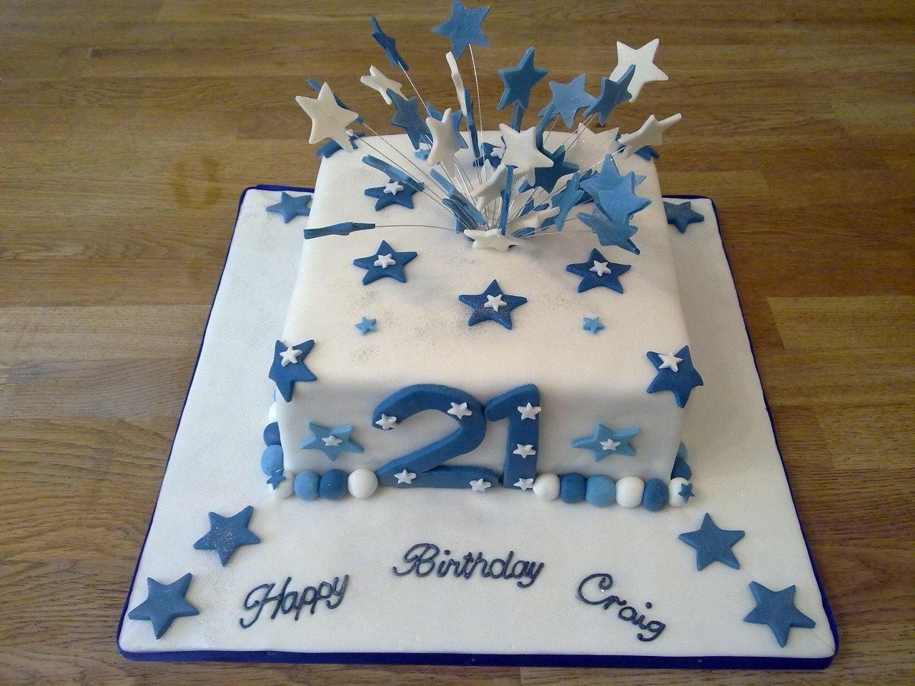 11 21st Birthday Cakes For Him Photo 21st Birthday Cake Idea