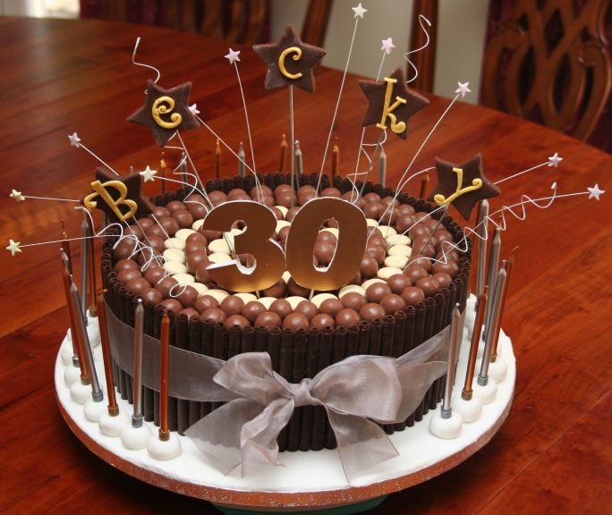 Phenomenal 11 30Th Birthday Cakes For Men Photo 30Th Birthday Cake Ideas Personalised Birthday Cards Veneteletsinfo