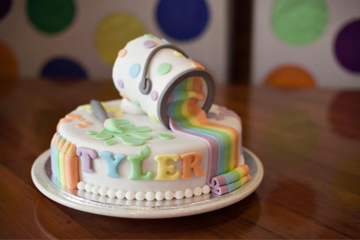 Stupendous 9 Art Supply Birthday Cakes Photo Art Party Birthday Cake Idea Funny Birthday Cards Online Necthendildamsfinfo