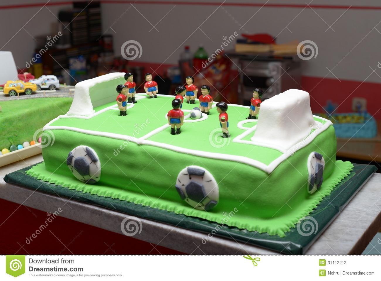 11 Football Cakes For Teenage Boys Photo Teenage Boy Birthday Cake