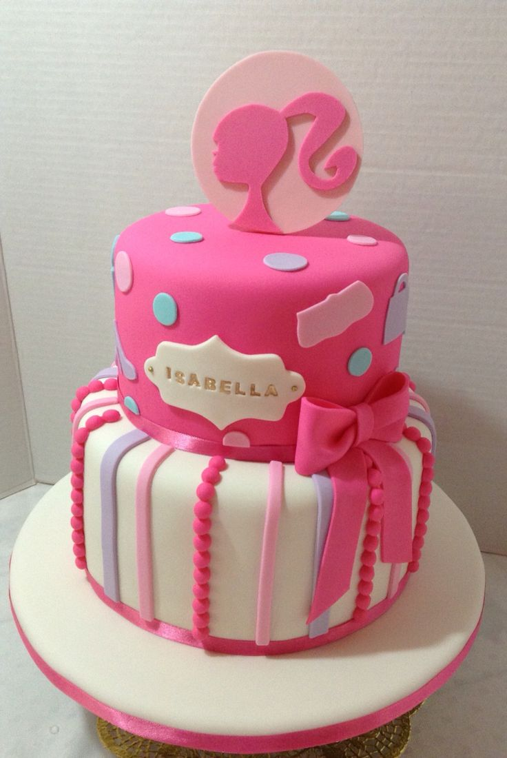 11 Cool Barbie Themed Birthday Cakes Photo Barbie Doll Birthday