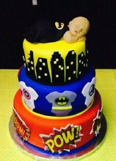 Batman Baby Shower Cake Ideas