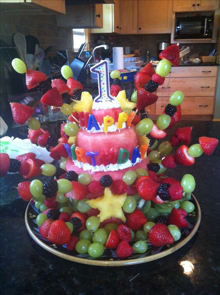 Groovy 9 Fruit Cakes Birthday Day Photo Happy Birthday Cake With Fruit Funny Birthday Cards Online Overcheapnameinfo