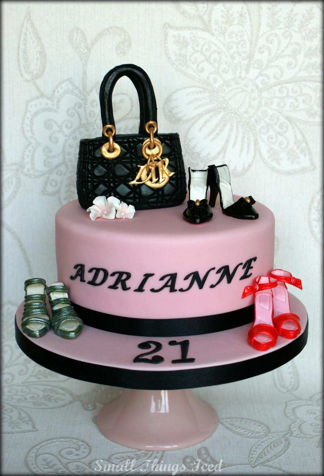 10 Birthday Cakes Of Shoes And Handbags Photo Handbag And Shoes
