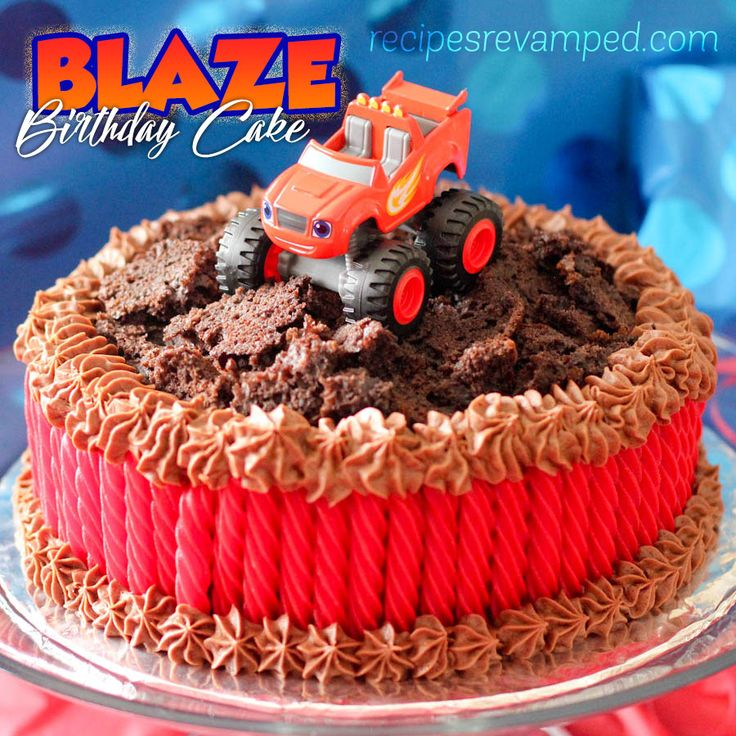 Blaze Birthday Party Cakes