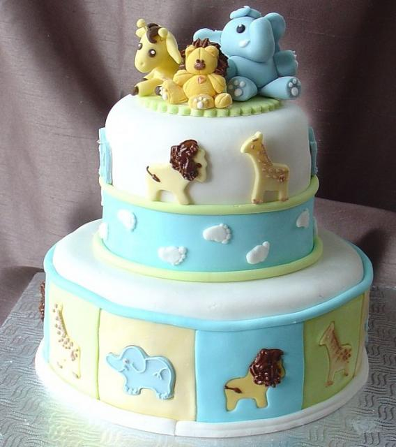12 Cute Safari Themed Baby Shower Cakes Photo Cute Jungle Animals