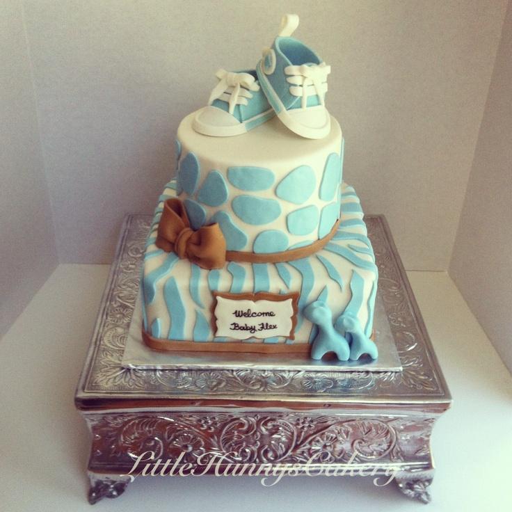 12 Elegant Baby Shower Cakes No Fondant Photo Elegant Baby Shower