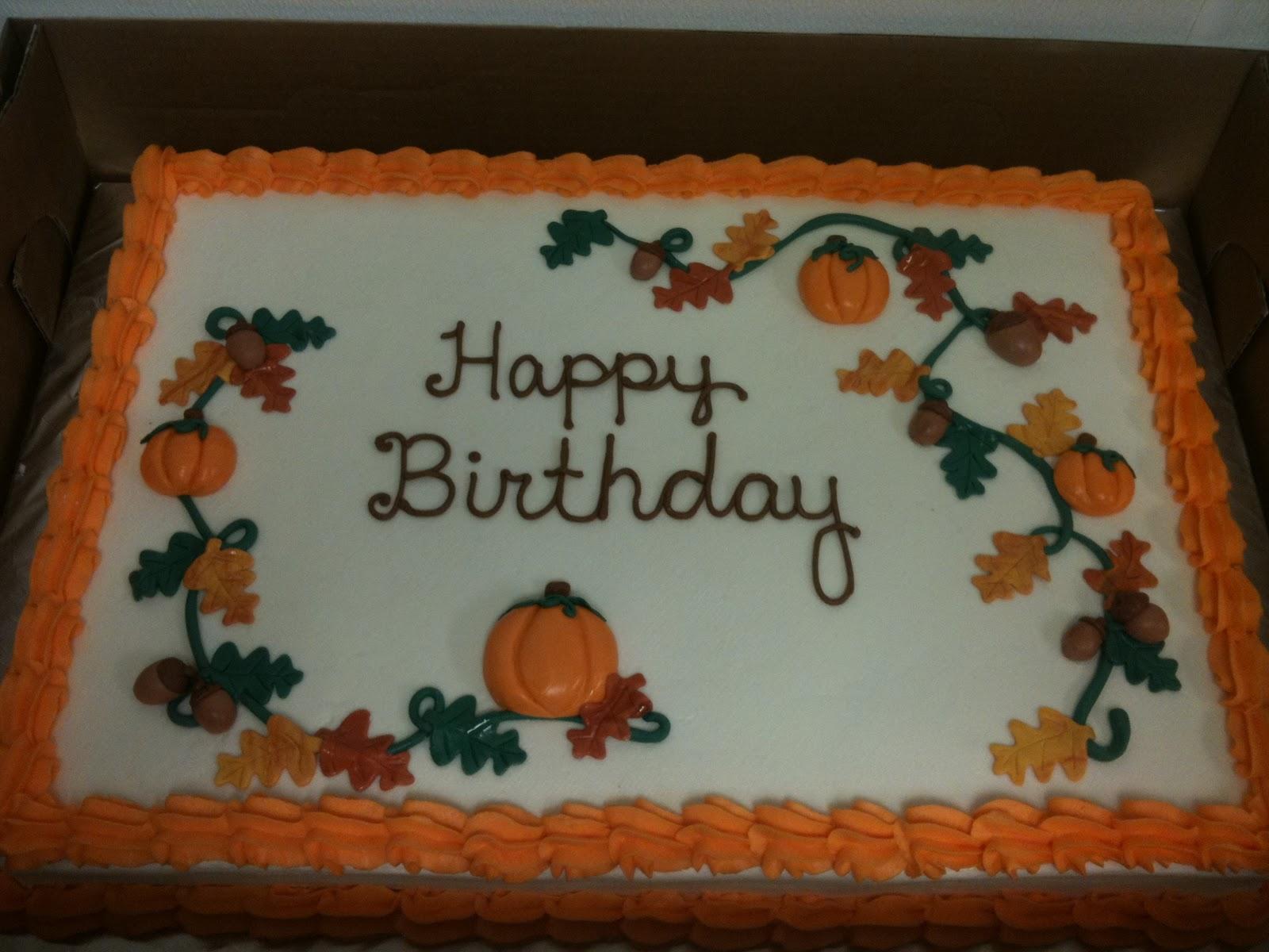 Fall Sheet Cakes Ibovnathandedecker