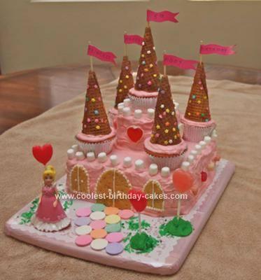 10 Homemade Princess Cakes For Girls Photo Princess Birthday Cakes