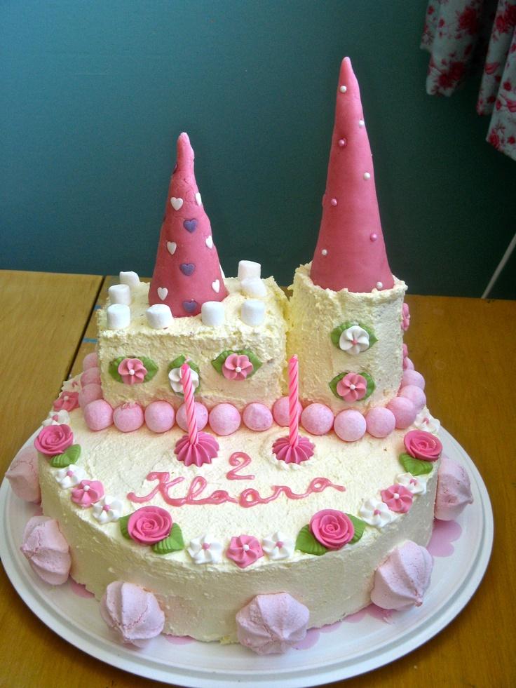 7 Easy 2nd Birthday Cakes For Girls Photo Happy 2nd Birthday Girl