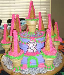 10 Homemade Princess Cakes For Girls Photo Princess Birthday Cakes