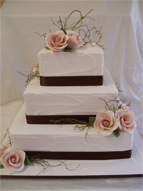 Best 2 Tier Square Wedding Cakes Ideas - Styles & Ideas 2018 - sperr.us