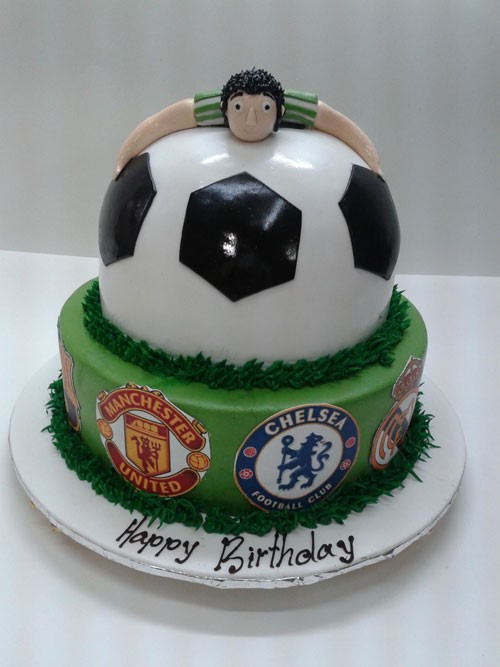 Fine 11 Football Cakes For Teenage Boys Photo Teenage Boy Birthday Funny Birthday Cards Online Elaedamsfinfo