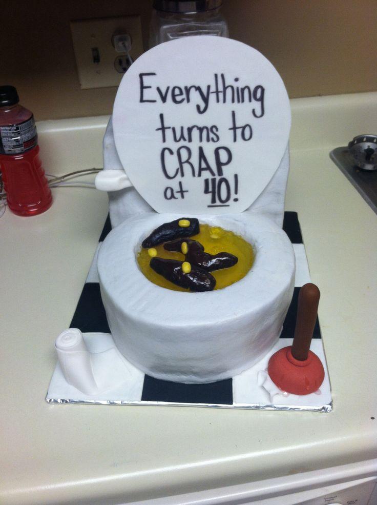 Turning 40 Birthday Cake