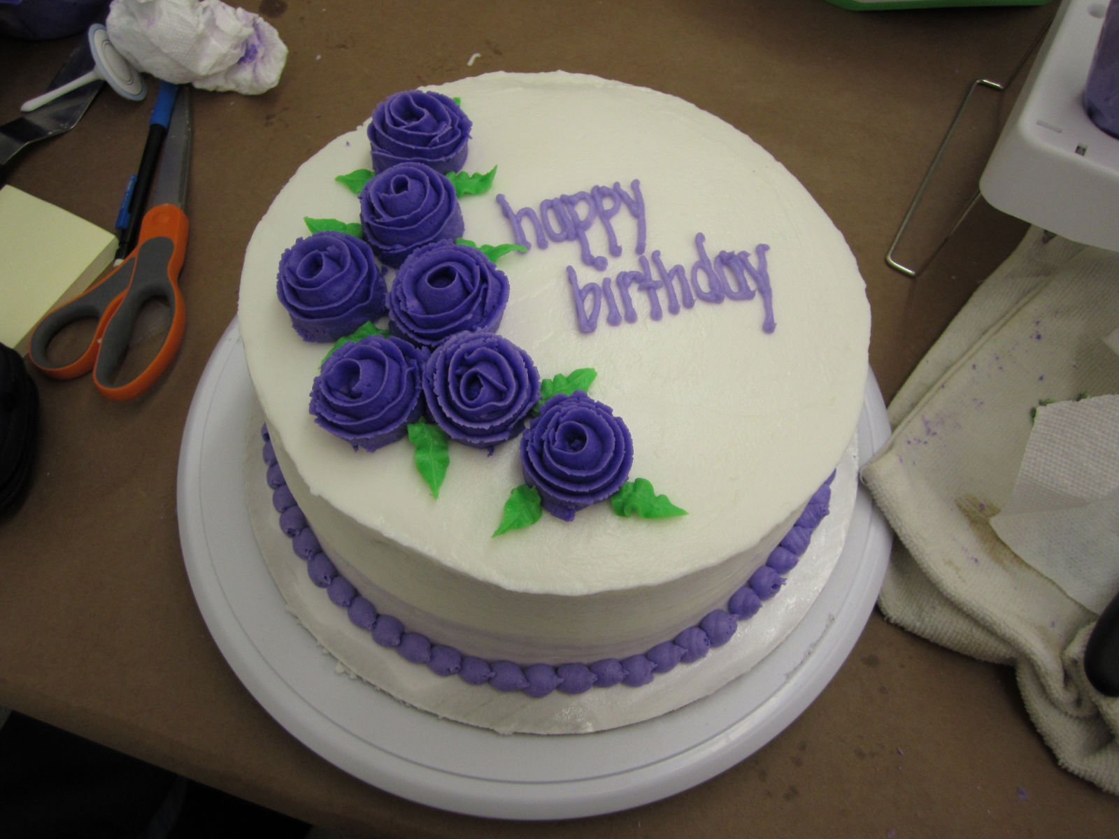 9 Decorate Their Cakes Photo YouTube Cake Decorating Roses Simple