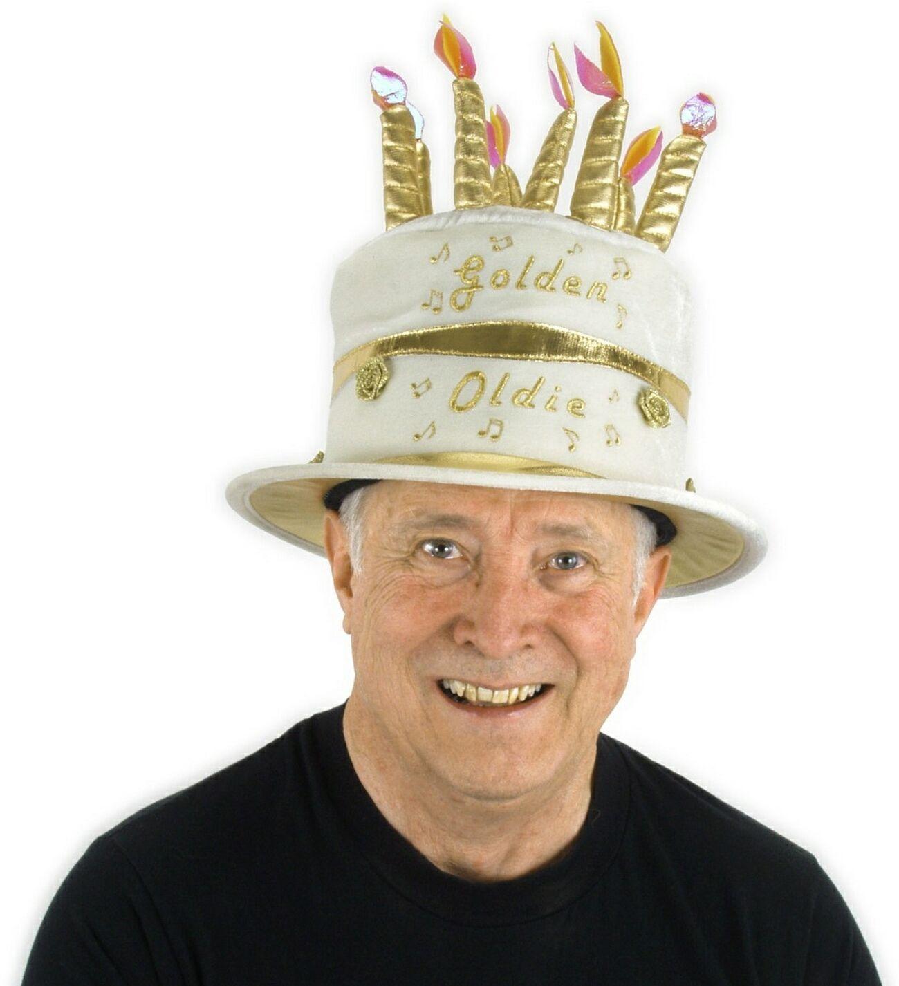 Adult Birthday Cake Hat