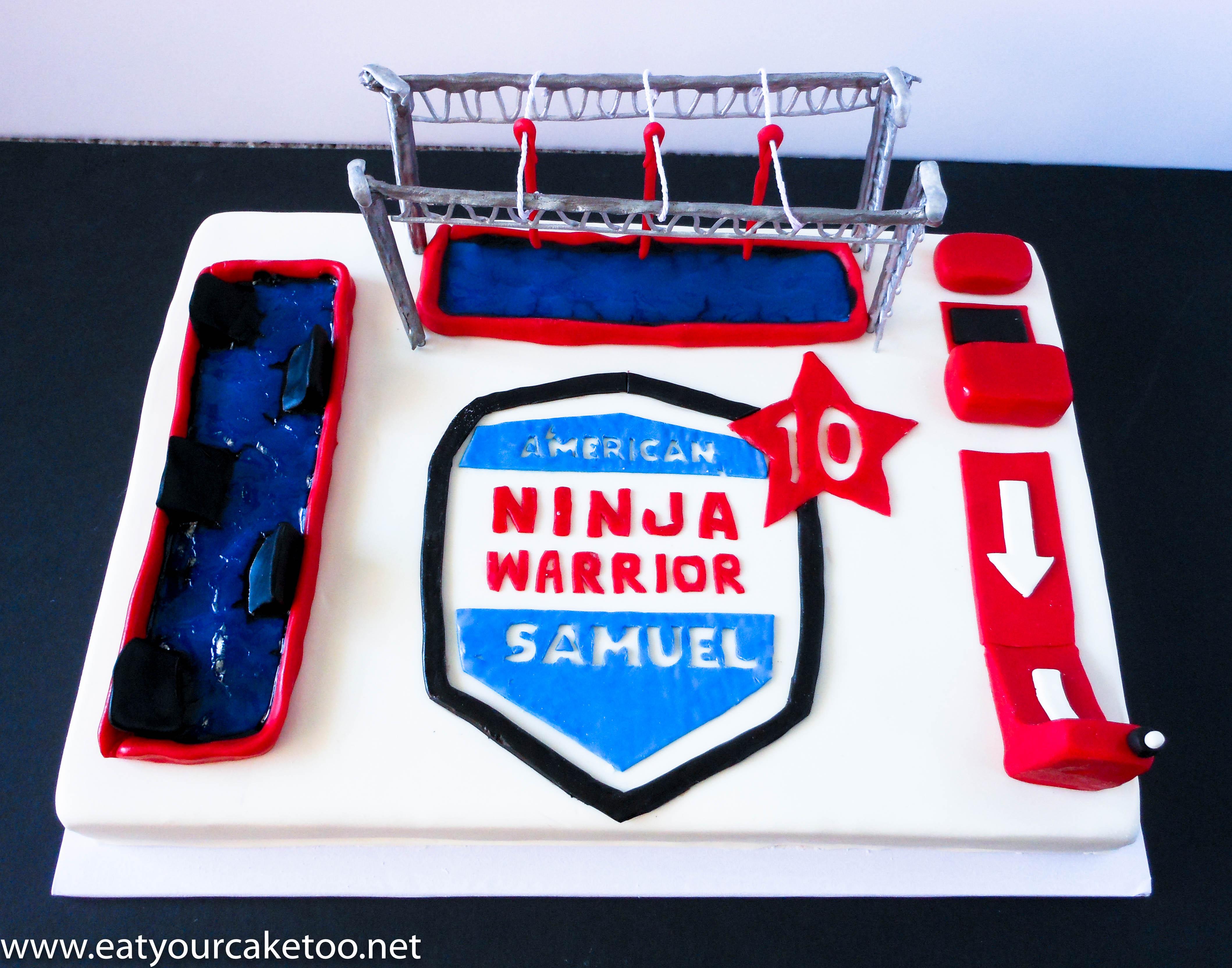12 Pintrest Ninja Warriors Cakes Photo American Ninja Warrior