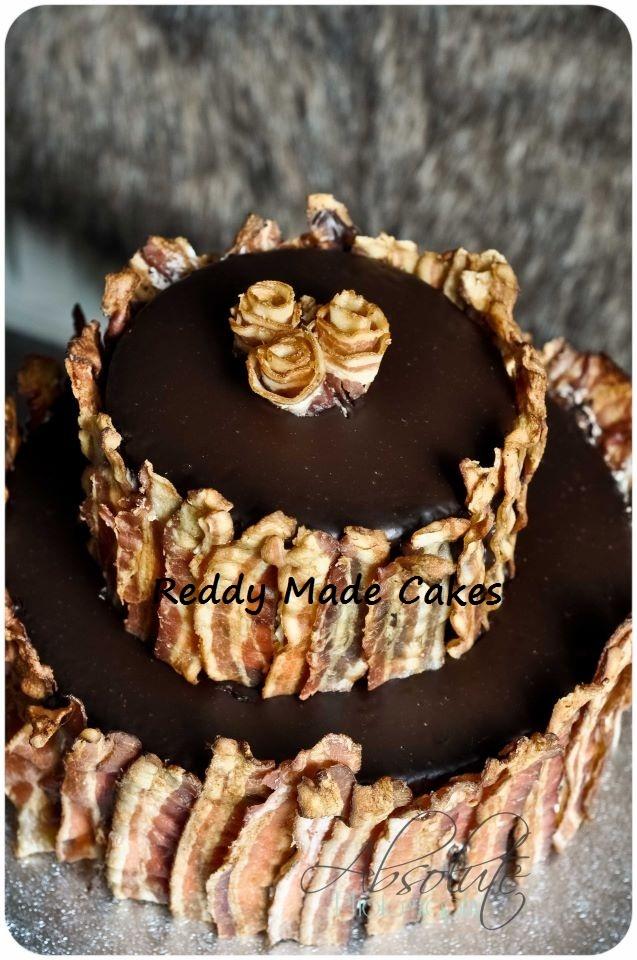 6 Maple Bacon Cupcakes With Chocolate Ganache Photo Chocolate