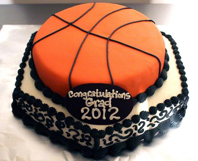 11 Basketball Fondant Birthday Cakes Photo Basketball Birthday