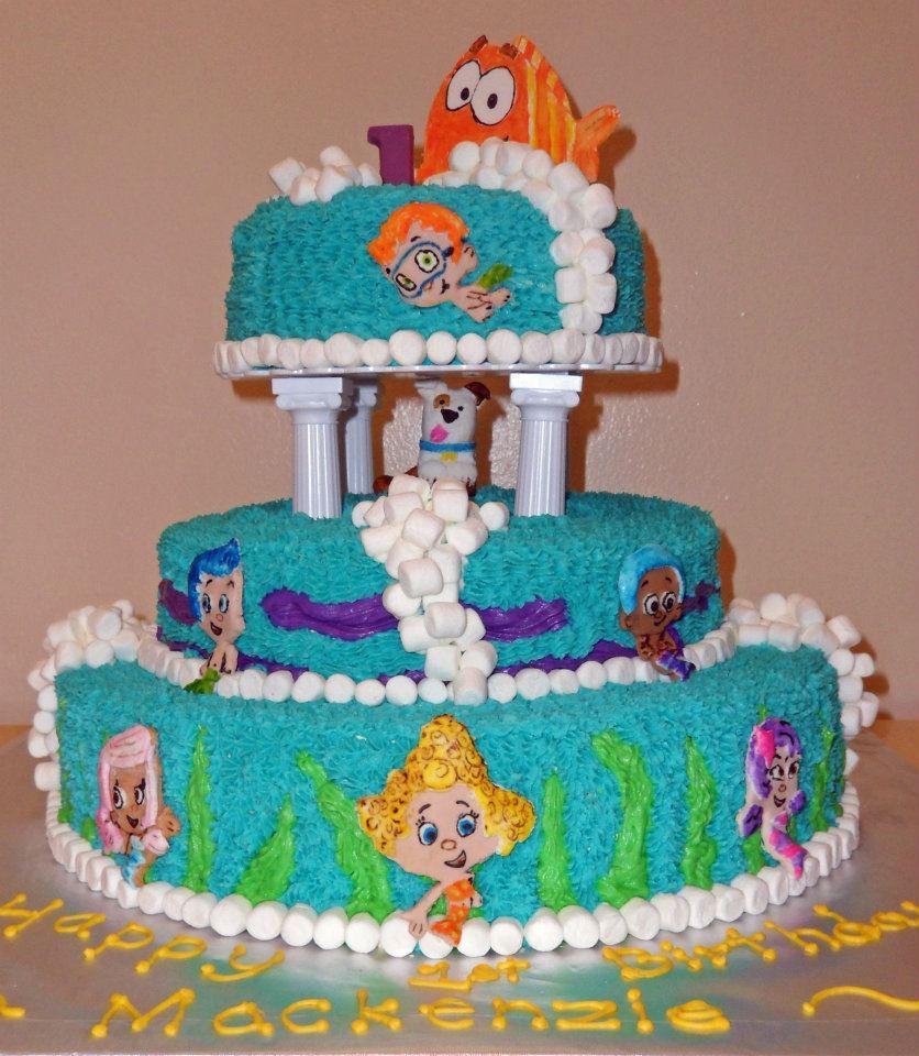 12 Bubble Guppies 1st Birthday Cakes Photo