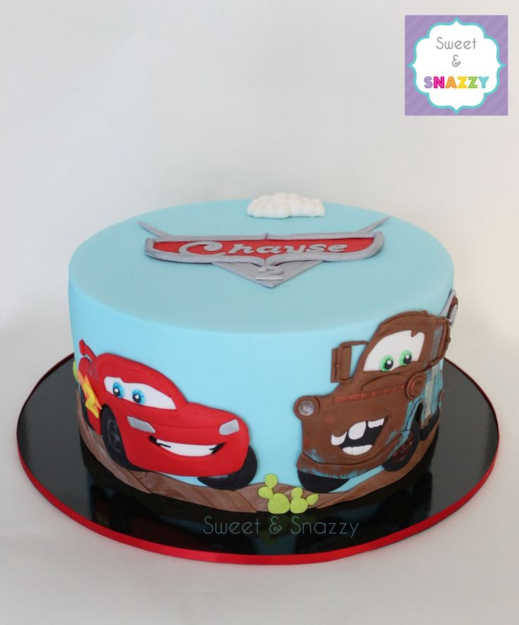 10 McQueen Car Cakes Photo Cars Lightning McQueen Birthday Cake