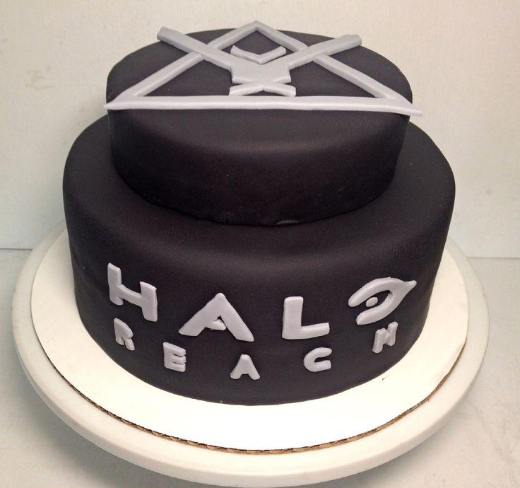 Pleasing 11 Halo Reach Birthday Cakes Photo Halo Reach Birthday Cake Birthday Cards Printable Nowaargucafe Filternl