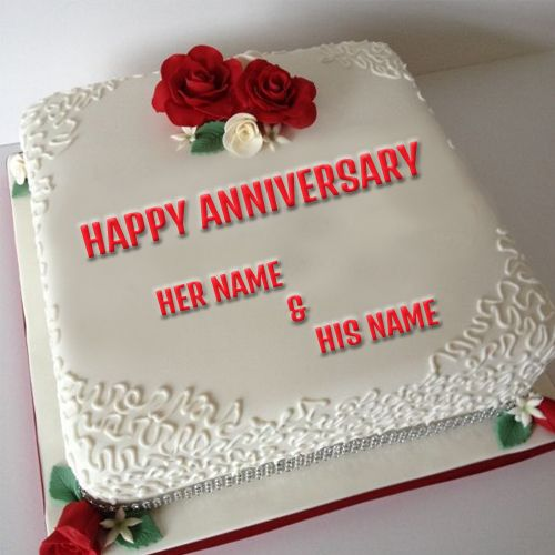 Cake Images With Name For Wedding Anniversary Cake Image Diyimagesco