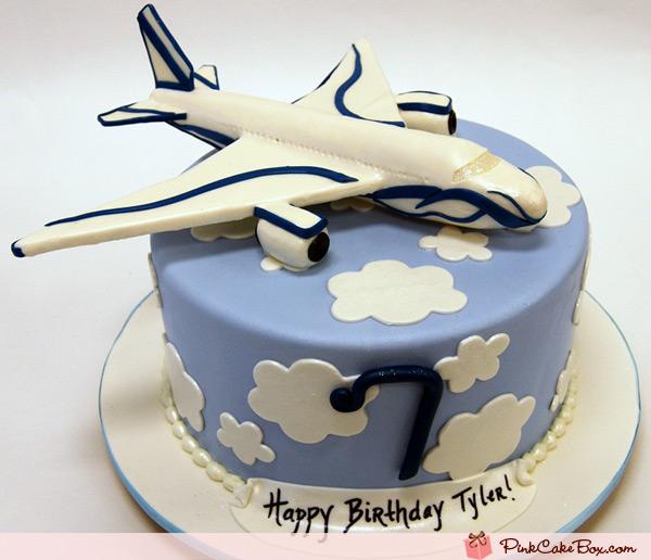 Fine 9 Custom Birthday Cakes With Airplanes Photo Happy Birthday Funny Birthday Cards Online Alyptdamsfinfo