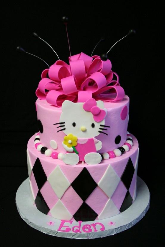 6 Batisum Hello Kitty Birthday Cakes Awesome Photo
