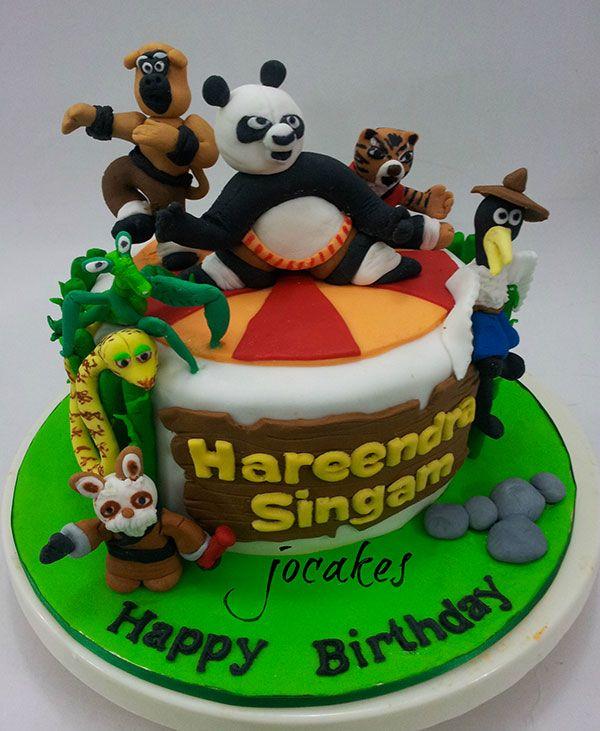 Amazing 10 Martial Arts Kung Fu Panda Cakes Ideas Photo Kung Fu Panda Funny Birthday Cards Online Alyptdamsfinfo