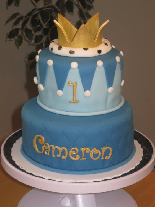 Little Prince 1st Birthday Cake