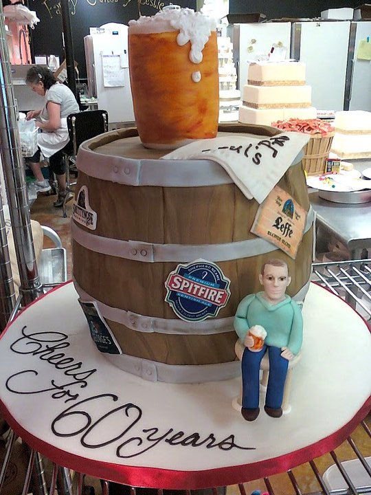 Men Beer Birthday Cake Ideas