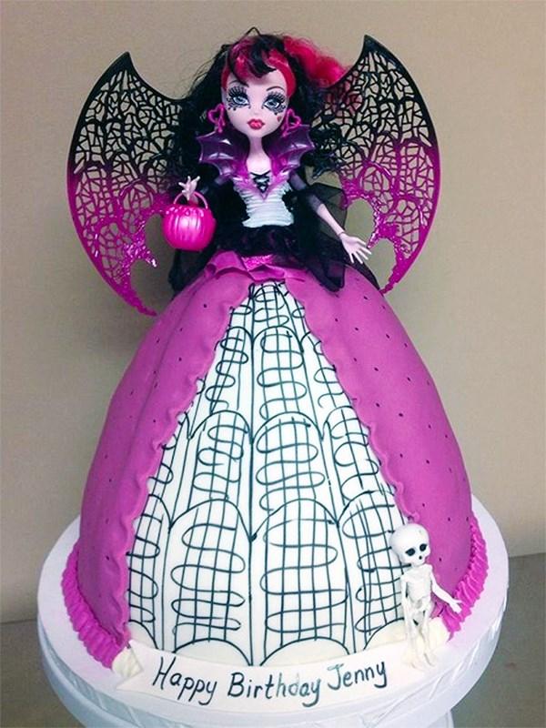 Sensational 7 Monster High Cakes At Target Photo Monster High Doll Birthday Personalised Birthday Cards Sponlily Jamesorg