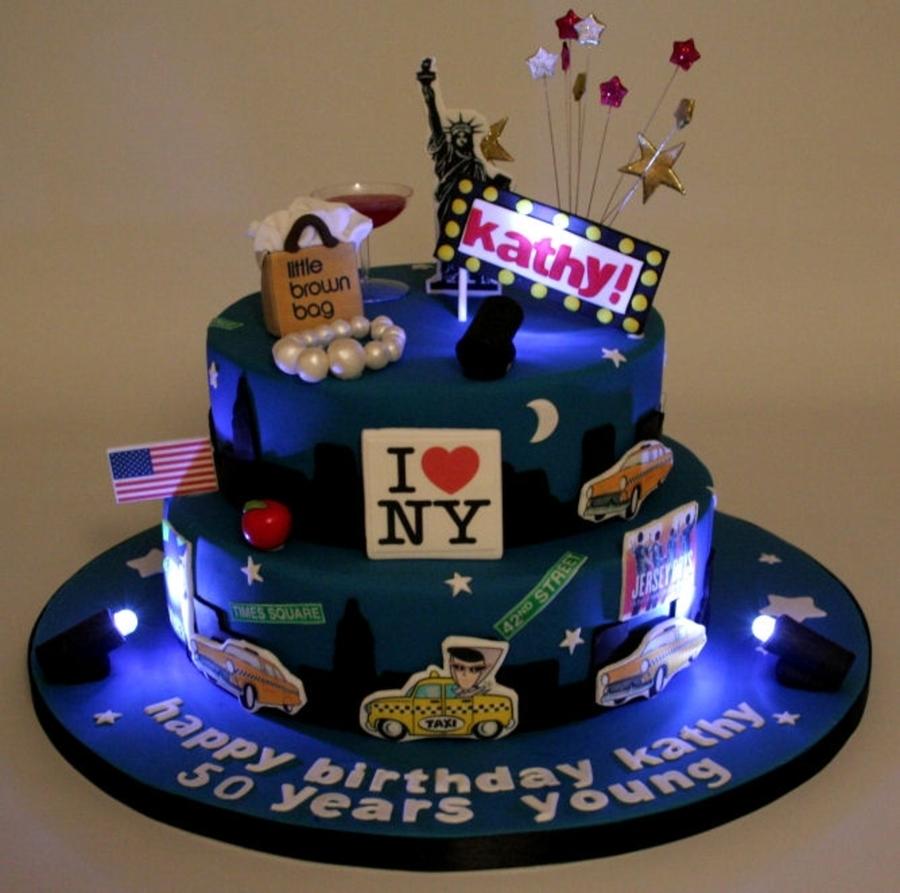 10 Funny Bday Cakes Nyc Photo New York Themed Birthday Cake New