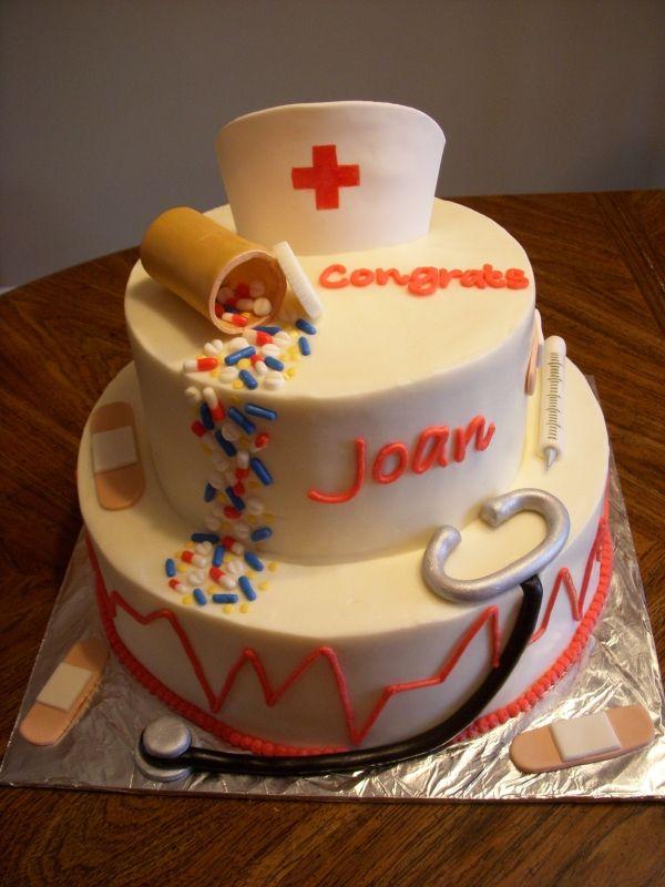 Peachy 10 Fancy Nurse Cakes Photo Nurse Cake Ideas Nursing Graduation Personalised Birthday Cards Akebfashionlily Jamesorg