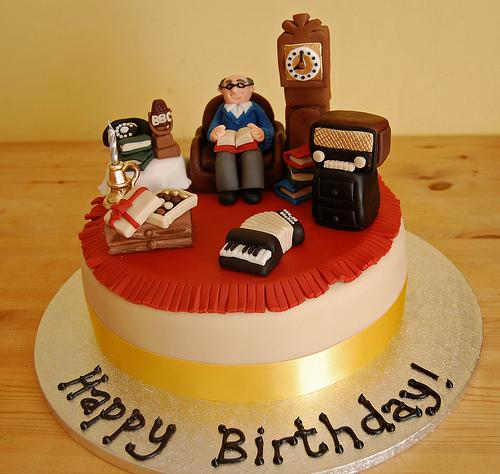 Brilliant 10 Birthday Cakes For Elderly Men Photo Old Man Birthday Cake Personalised Birthday Cards Veneteletsinfo