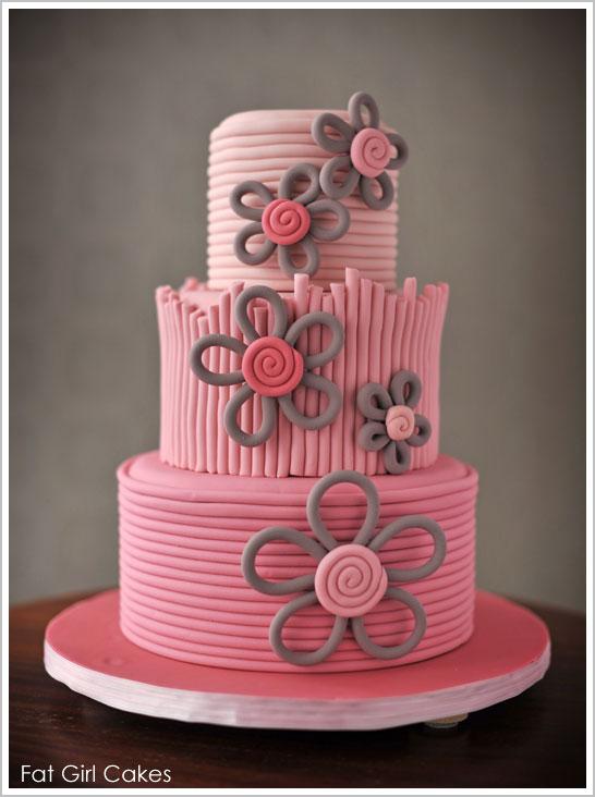 9 Rolled Fondant Cakes Photo Fondant Cakes with Royal Icing Cake