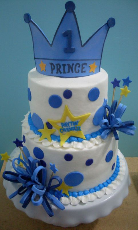 Prince Theme Birthday Cake