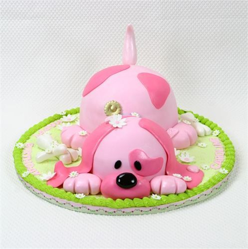 Awesome 9 Puppy Cakes For Girls 1St Birthday Decoration Photo Puppy Dog Personalised Birthday Cards Veneteletsinfo
