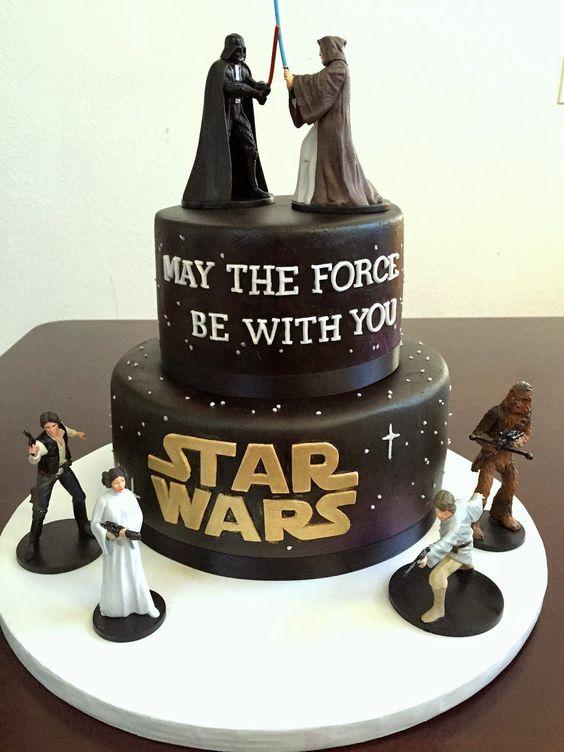 8 Bilo Birthday Cakes Star Wars Photo Star Wars Birthday Cake