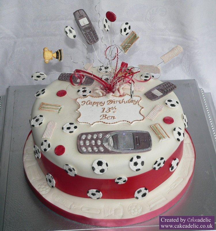 12 Unique Cakes For Teenage Boys Photo Teen Boy Birthday Cake